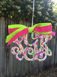 Swell Starbucks Lilly Pulitzer by Lilly Pulitzer Inspired Lulu Print Rearview Mirror Monogram Car