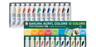 acrylic color in 75ml tube sakura color products corp