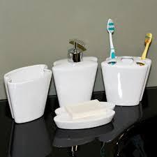 Bathroom Accessories Online Home Bathroom Butterfly Porcelain Bath Accessories 4 Piece Set