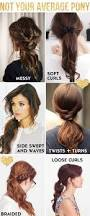 Average Hair Loss Per Day 6 Cool Ways To Spruce Up A Boring Ponytail Pony Ponytail And