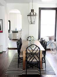 Chippendale Dining Room Chairs Small Luxury Apartement Dining Room Interior Design With Rectangle
