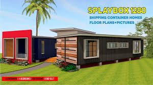 shipping container homes plans and modular refab design ideas