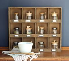 Vintage Wooden Spice Rack The Craft Patch Farmhouse Wooden Cubby Shelf Styling Ideas