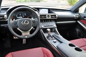 white lexus is 250 red interior 2015 lexus is 350 f sport review autoweb
