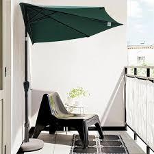 Half Umbrella For Patio 10ft Patio Outdoor Half Umbrella Color Options The Diy Outlet