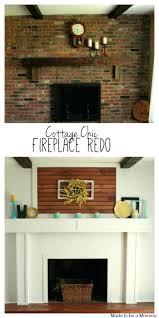 fireplace updating ideas redo design brick fireplace makeover