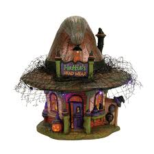 halloween village accessories snow village halloween