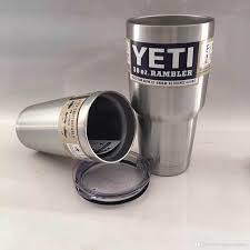 Travel Mug 2017 Yeti Stainless Steel Travel Mug Beer Cup Car Mug Snowman
