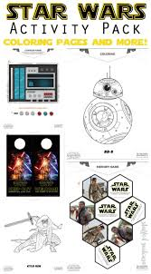 star wars coloring pages and activities