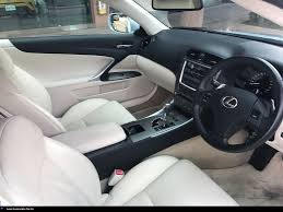 lexus in singapore buy used toyota lexus is250c auto std car in singapore 67 800