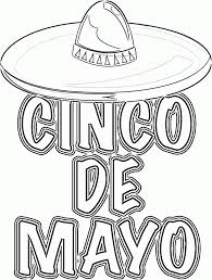 printable cinco mayo coloring pages coloring