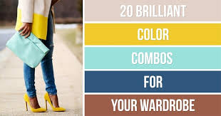 color combos brilliant color combos for your wardrobe