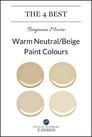 the 4 best benjamin moore warm neutral paint colours undertones