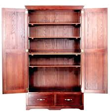 Solid Wood Kitchen Pantry Cabinet Wood Storage Pantry Pantry Storage Cabinets For Kitchen With Free