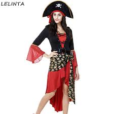Cheap Women Halloween Costumes Cheap Womens Red Pirate Costume Aliexpress