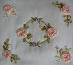 silk ribbon embroidery silk ribbon embroidery free sre design spider web combinations