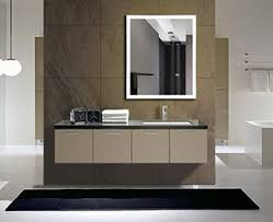 Illuminated Bathroom Wall Mirror - illuminated mirror lighted bathroom mirror lighted cabinets