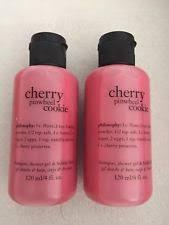 philosophy cherry pinwheel cookie shoo shower gel bath