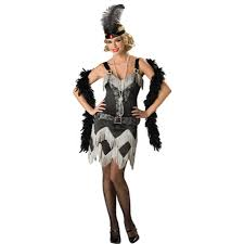 roaring 20s charleston womans flapper costume halloween dance