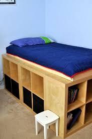 Ikea Floor Tile Bedroom Ikea Twin Bed With Drawers Concrete Wall Mirrors Floor
