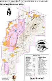 Hiking Maps Kennesaw Mountain Trail Club Trail Maintenance Hiking Maps