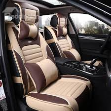 Most Comfortable Baby Car Seats Sporty And Fashionable Plaid Patterned Leather Car Seat Cover