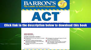 best ebook barron s act math and science workbook 2nd edition