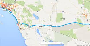 Joshua Tree California Map I 10 Bridge Collapse Near California Arizona Border Means Rod