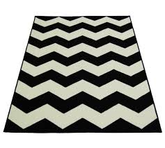 B And Q Rugs Buy Chevron Rug 60x110cm Black And White At Argos Co Uk Your
