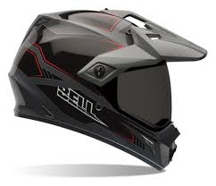 motocross helmets with goggles bell mx 9 adventure blockade helmet revzilla
