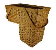 amazon com topot woodchip stair step basket with swift handles