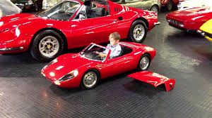 electric porsche supercar porsche 904 carerra gts electric kid car test drive scale