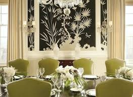 Best Wallpaper For Dining Room by 27 Splendid Wallpaper Decorating Ideas For The Dining Room