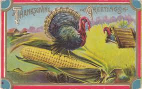 thanksgiving postcard roundup
