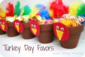 talkin turkey thanksgiving favors one artsy tierra este