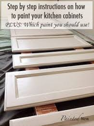 What Paint To Use For Kitchen Cabinets by 120 Painted Cabinet Makeover Using Sherwin Williams White Duck