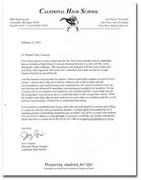 ideas collection recommendation letter from high english