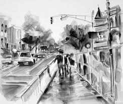 gestural urban landscape drawings loosen up