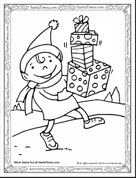 astonishing funny christmas elves coloring pages for kids with elf