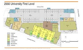 building floorplans 2550 university