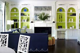 Navy Table L Interesting Living Room With Interior Design Ideas With Green