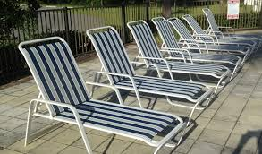 Pool Patio Furniture by Patio Furniture Repair Vinyl Strap Replacement And Sling Replacement