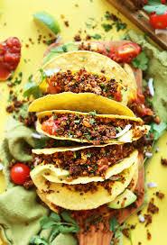 cuisine quinoa quinoa taco minimalist baker recipes