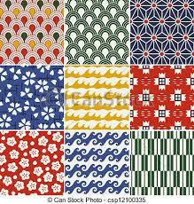 kimono repeat pattern seamless japanese kimono pattern vectors search clip art