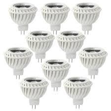 Landscape Led Light Bulbs by Lot Of 10 12v 5w Cob Mr16 Led Bulb 50w Equivalent Mr16 Spotlight