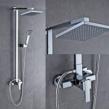 Bathroom Shower Set Auralum Bathroom Mixer Shower Set With Square 8 Shower And