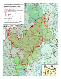 Washington Fire Map by Milli Fire And Other Fires In Three Sisters Wilderness Oregon