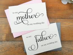 To My Bride Card To My Mother Card To My Father Card Mother Of The Bride Card