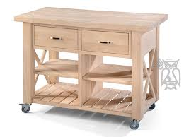 kitchen island unfinished hoot judkins furniture san francisco jose bay area whitewood for