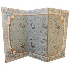 Venetian Room Divider 18th C Venetian Hand Painted Folding Screen Venetian